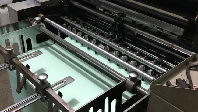 Maquinaria de impresión de alta tecnología